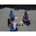 Our Year 4 leavers enjoying their farewell party in the sunshine!