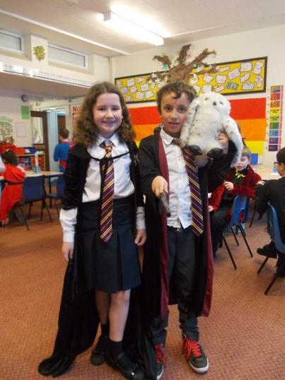 Witches and wizards from Hogwarts