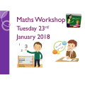 KS1 Maths Parent Workshop