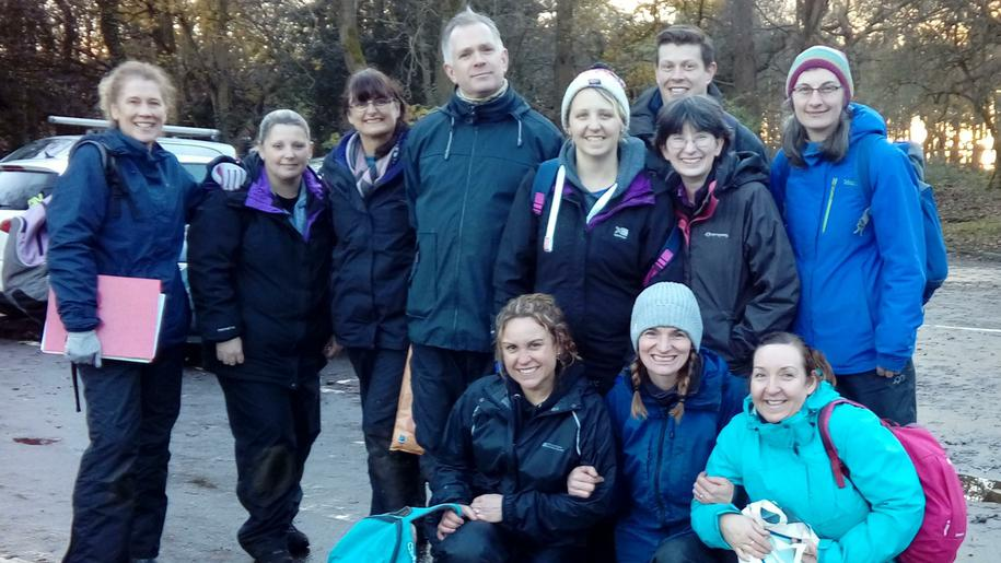 Smiles at the end of Outdoor Practical Assessment