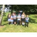 Some of our amazing Year 6 leaver!