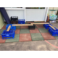 Planks and crates