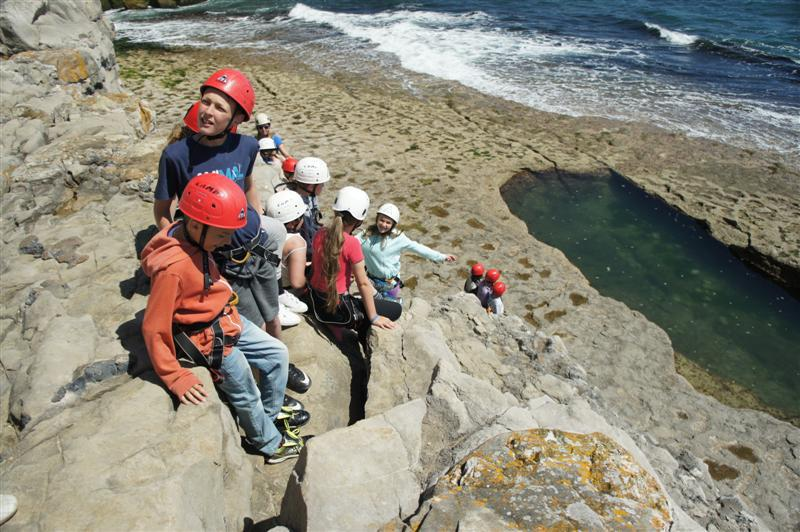 Climbing and Abseiling in Dorset