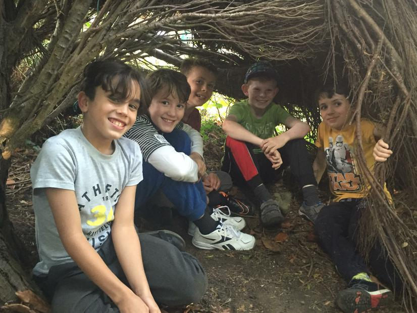 Forest School - den building!