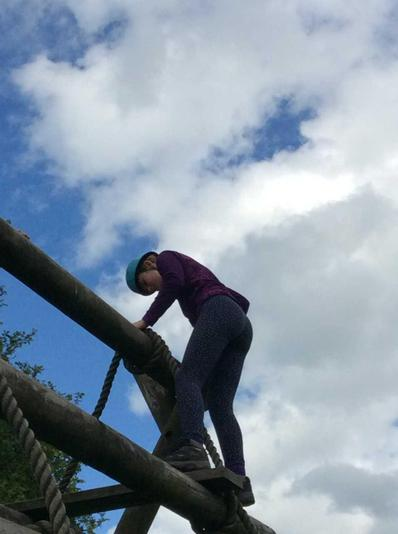 Balancing on the obstacle course