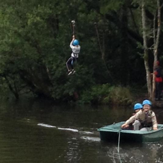 Lake Challenge Zip Wire