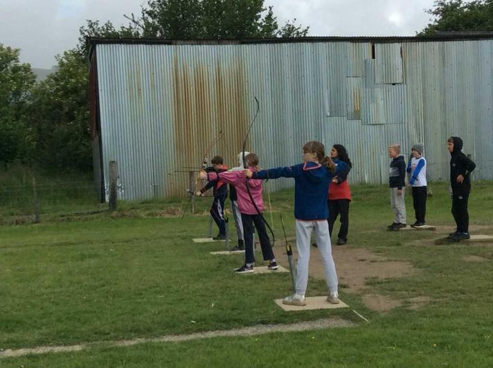 Archery - great shot