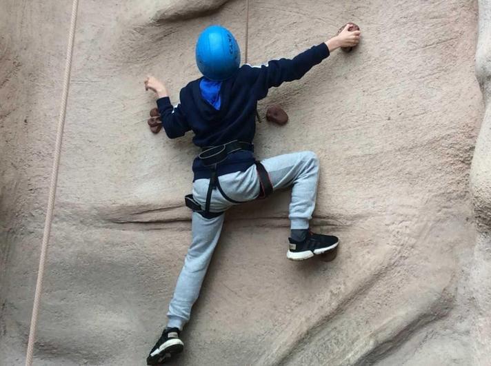 Well done, keep climbing