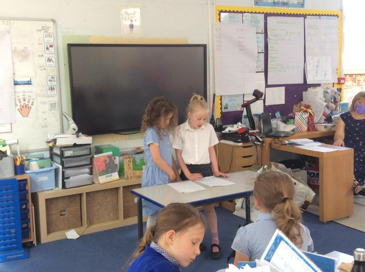Performing puppet shows