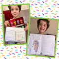 Teddy sharing his book review