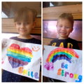 Amazing, positive rainbows by Bobby and Lillie Mae