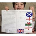 Teddy has researched 'The United Kingdom'