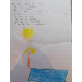 Daisy W has written a super sun poem