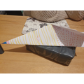 Elena's fabulous paper plane.
