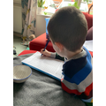 William practises counting in fives