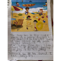 Scarlett C's lovely descriptive writing