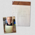 Jack's acrostic poem about flowers.