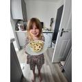 Isla M's yummy jam tarts