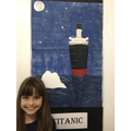 Florence's 3D Titanic display.