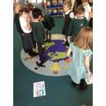 School council members deciding their favourites.