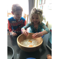 Ferne and George get busy baking