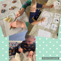 Lucas and all his lovely activities this week.