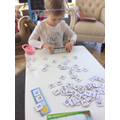 Ella Sophia has been busy building words
