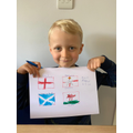 Albie's flags of the U.K.