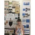 Florence's amazing Titanic presentation