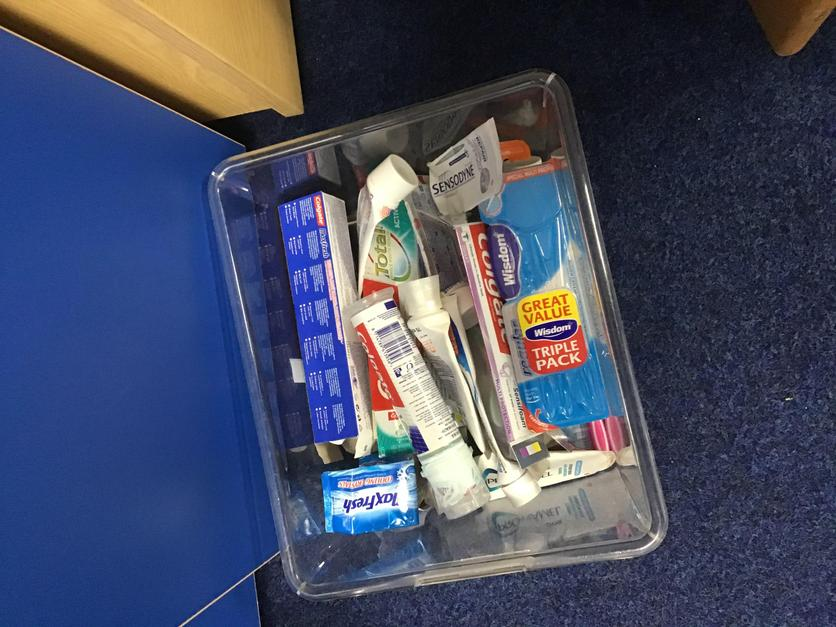 Our recycled dental hygiene products