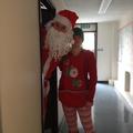 Santa in the building!