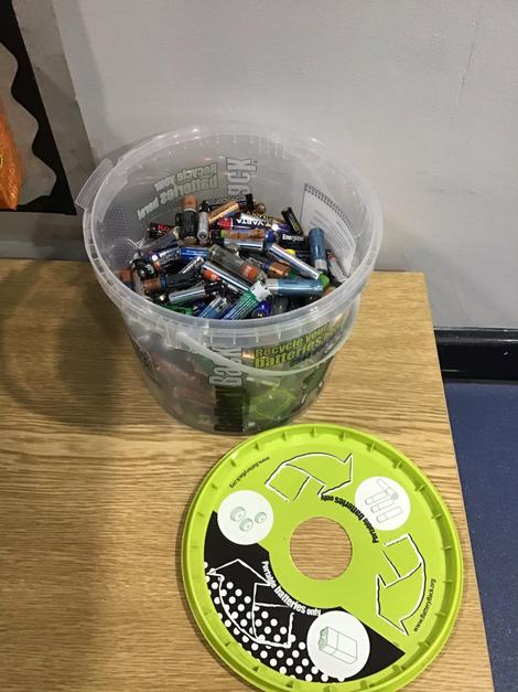 Our recycled batteries