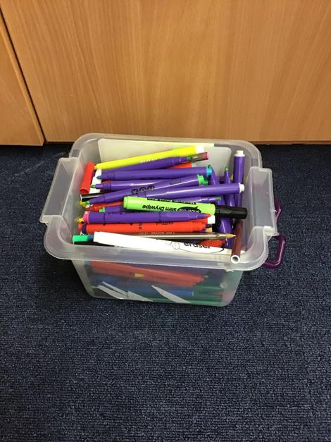 Our recycled pens