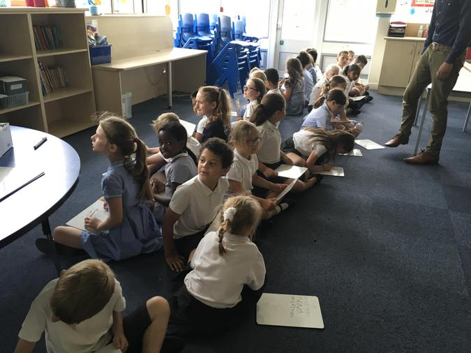 Spelling shaker races in lower school