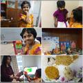 Aaradhya celebrating Pongal