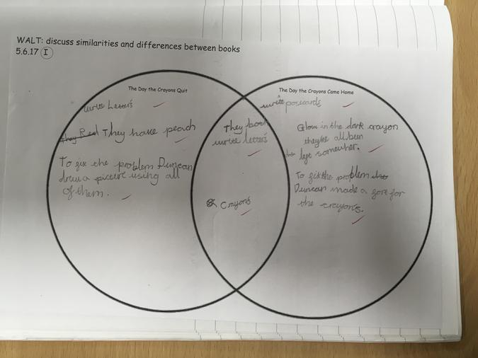 Year 2 similarities and differences