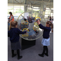 Year 2 science centre - linked to history