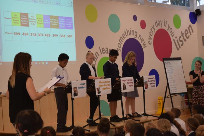 Final spelling bee decider competition