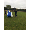Even Miss CHARMAN had a go