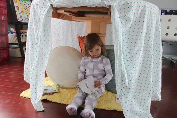 Make an indoor den