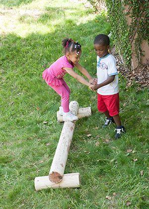 Make an outdoor obstacle course