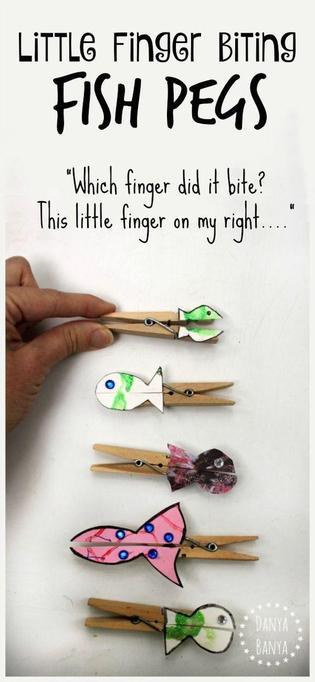 Make some peg puppets