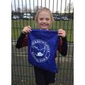 Layla - Winner of the Sportsmanship Award