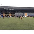 The Oaks Boys' Football A-Team at the EFL Cup