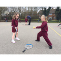 Roundwood Tennis Club Visit