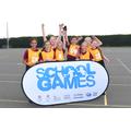 School Games U11 Mixed Netball Tournament Winners