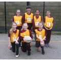 The Oaks Girls' Netball Team Vs Dale Hall