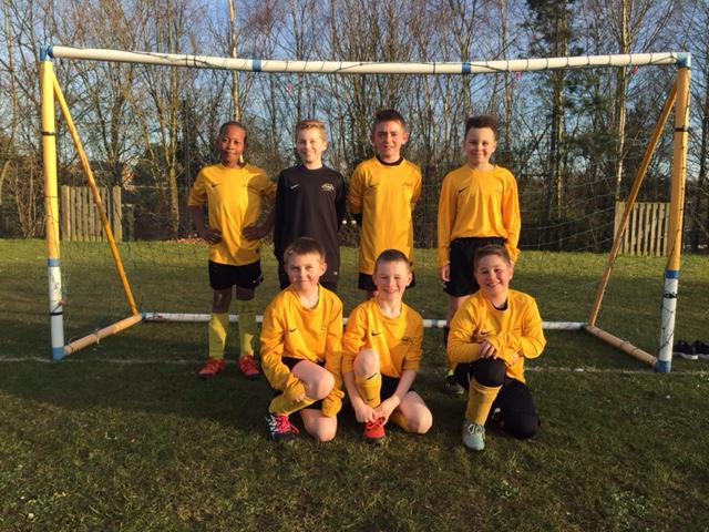 Boys' Football B-Team Vs Morland