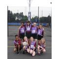 The Oaks Girls' Netball Team