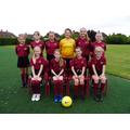 The Oaks Girls' Football B-Team Squad